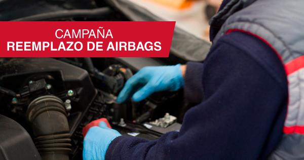 Campaña - Reemplazo de airbags