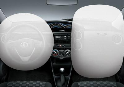Airbag frontales para conductor y acompañante