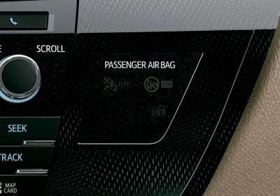 Desactivación manual de airbag frontal para acompañante