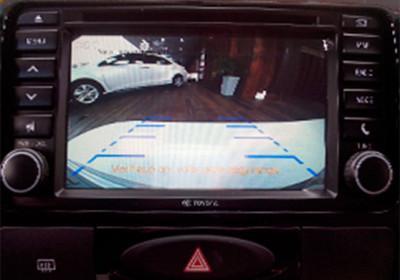 Monitor de cámara de estacionamiento en pantala LCD