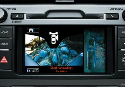 4 cámaras que otorgan una visión 360º del exterior