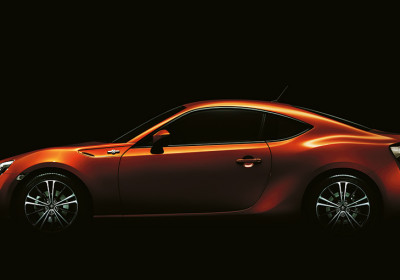 Toyota 86 GT. Vista lateral