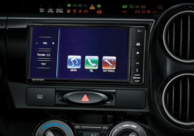 Audio con pantalla táctil de 7''