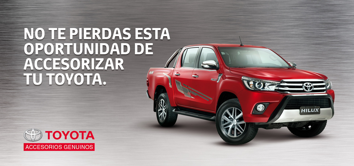 ¡Accesorizá tu Toyota!