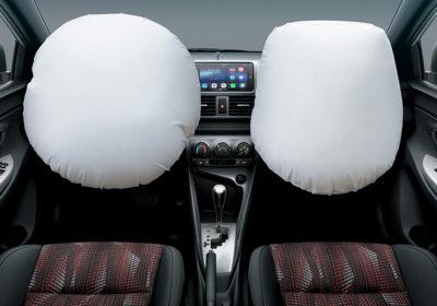 Airbags frontales para conductor y pasajero