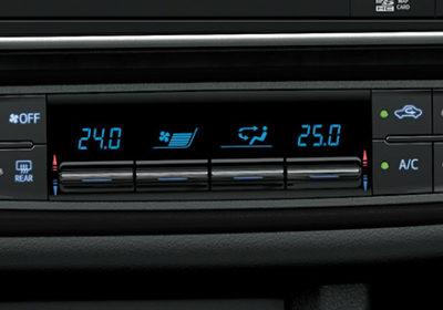 Aire acondicionado con climatizador automático digital bi-zona
