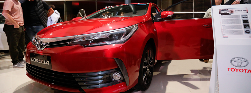 Toyota Corolla, el auto más seguro del país