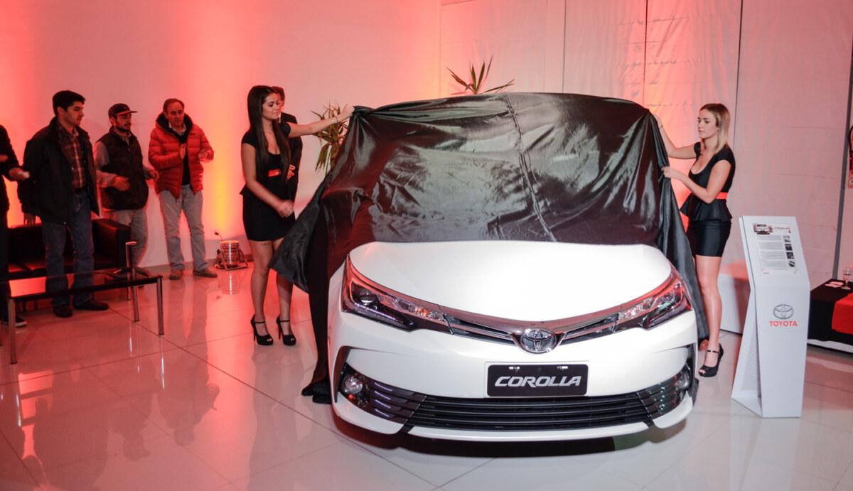 Nippon Car también presento el Nuevo Corolla en Bariloche