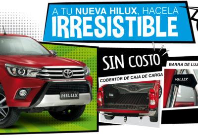 A tu nueva Hilux, hacela irresistible. Exclusivo para Bariloche