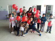 Festejos del día del niño junto a la Escuela Posta Cristo Rey