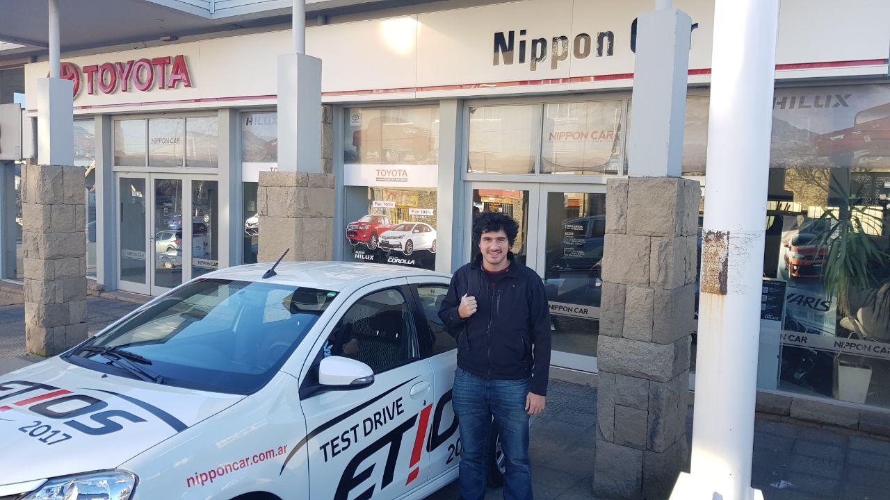 TN Autos pasó por Bariloche y Nippon Car estuvo con ellos