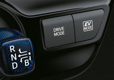 Selector de modo de conducción: ECO – Normal- Power-EV.