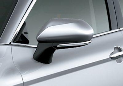 Espejos retrovisores con luz de giro incorporada