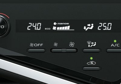 Climatizador automático de 3 zonas con regulación independiente