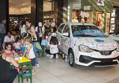 Gran convocatoria de Dream Car en El Portal Patagonia Shopping