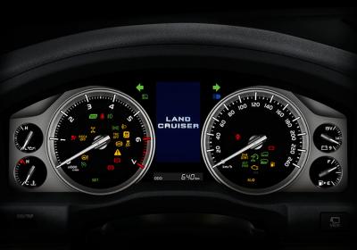 Tablero optitrón con display de información múltiple TFT de 4,2''.