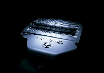 Motor V8 Diésel.