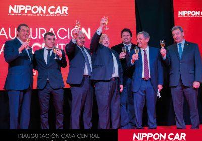 Nippon Car reinauguró su nueva Casa Central