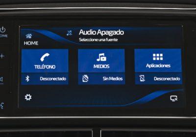 Audio con pantalla Táctil