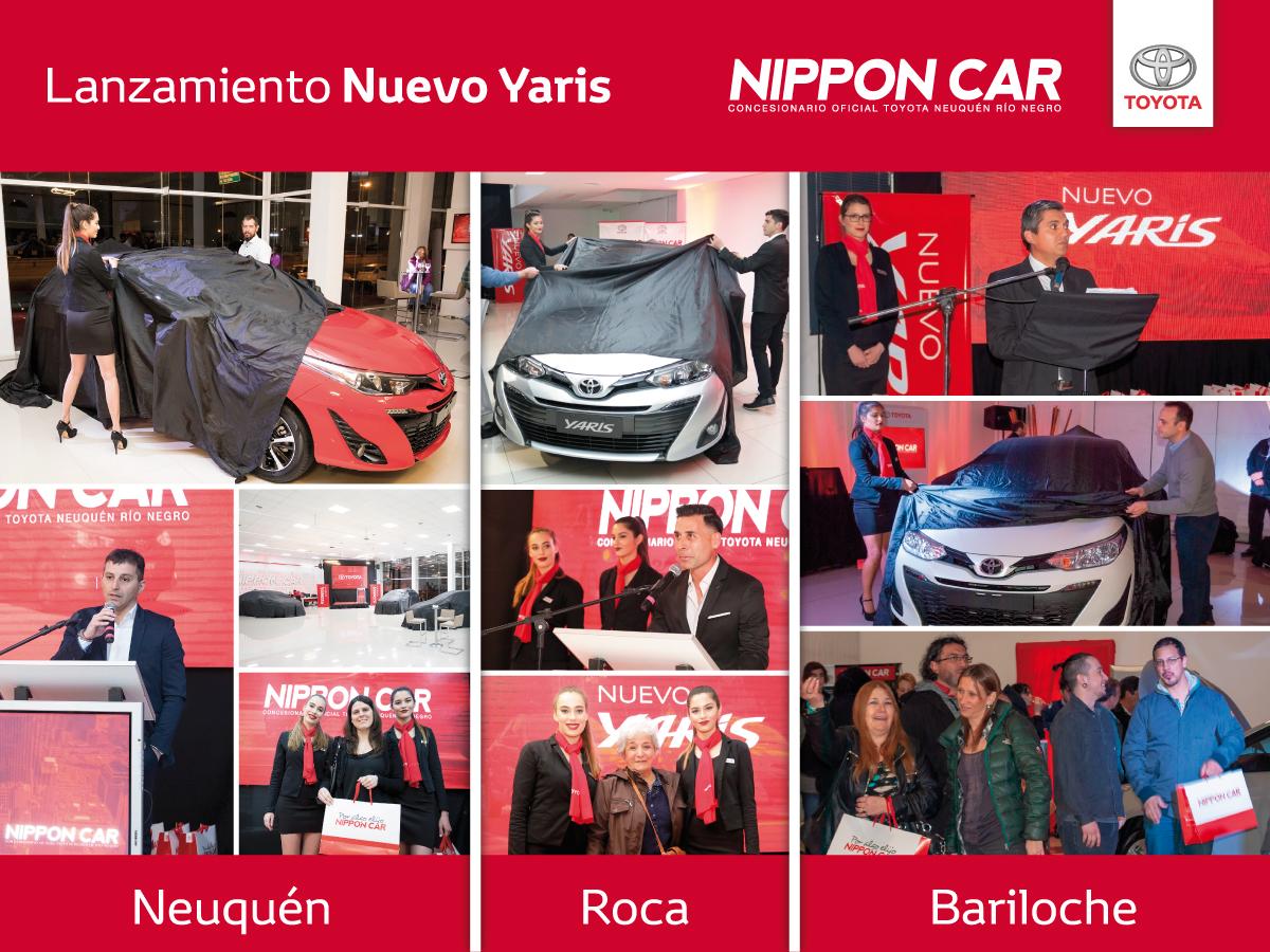 Se presentó el Nuevo Yaris en Nippon Car