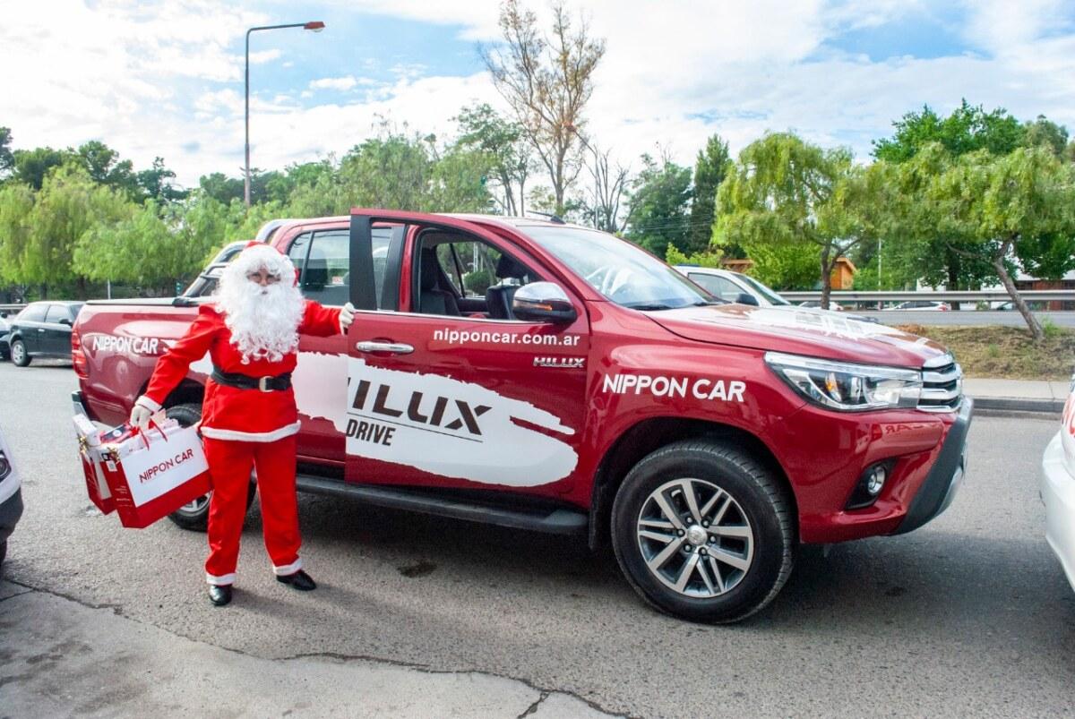 La Caravana Solidaria Toyota, estuvo presente en Neuquén y Río Negro.