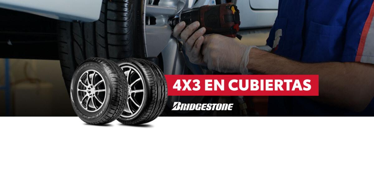 Venta de cubiertas Bridgestone