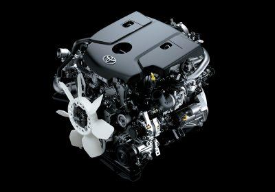 Motor 1GD 2.8 Turbodiesel con TGV y 177 CV.