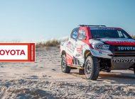 Toyota presentó el equipo para el Dakar 2019.