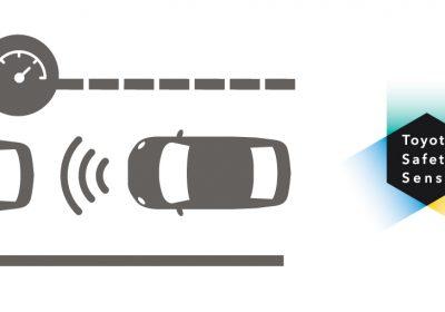 Control de velocidad crucero adaptativo (ACC) - Toyota Safety Sense