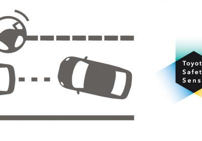 Sitema de alerta de cambio de carril (LDA) - Toyota Safety Sense