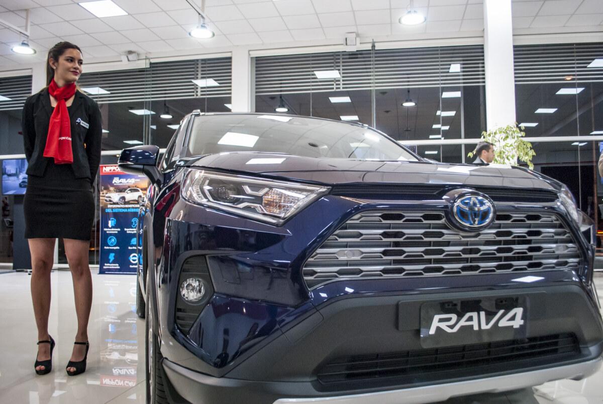 Lanzamiento Nueva RAV4 Hybrid.