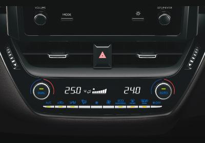 Climatizador automático digital Bi-Zona.