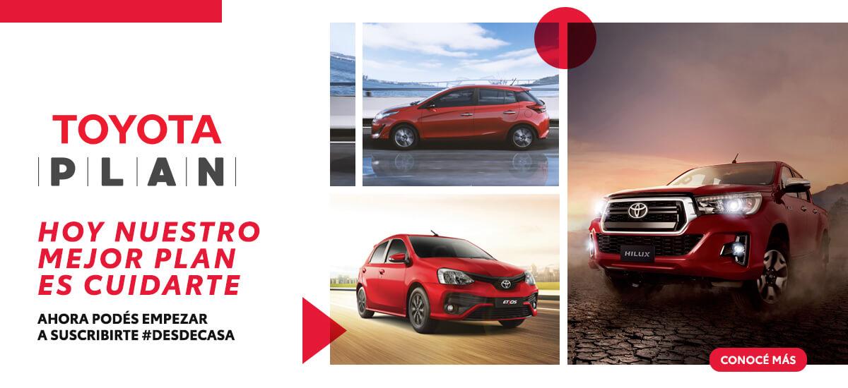 Nueva marca Toyota Plan