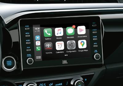 """Audio con pantalla táctil de 8"""", GPS y TV digital, Android Auto® y Apple CarPlay®"""