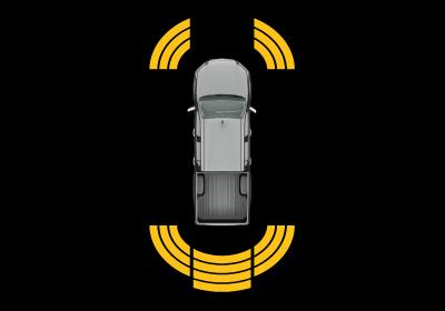 Sensores de estacionamiento delanteros y traseros